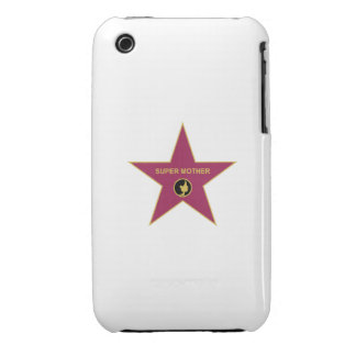 Super Mother - Hollywood Mother Star iPhone 3 Case-Mate Case