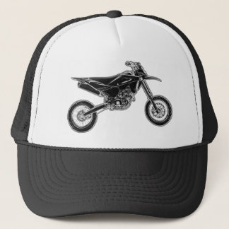 Super Moto Supermoto Trucker Hat