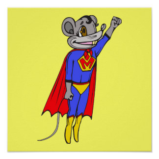 Super Mouse Poster