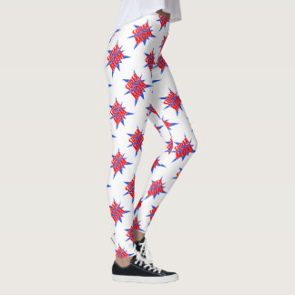 Super Mum Super Hero Leggings
