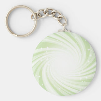 Super Nova Basic Round Button Key Ring