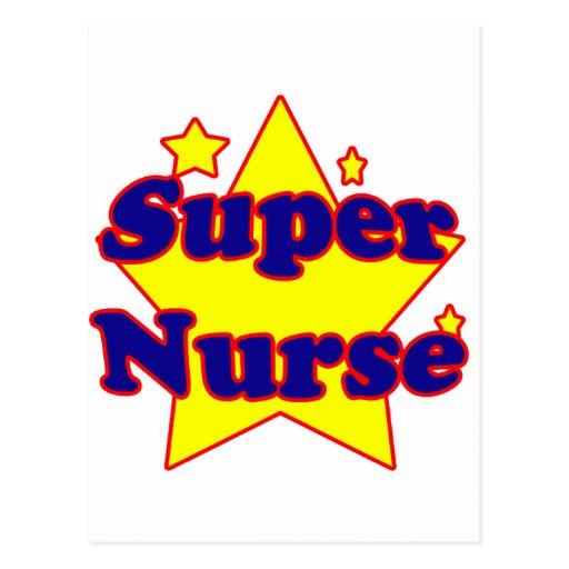 Super Nurse Post Card