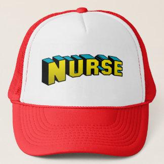 Super Nurse Trucker Hat