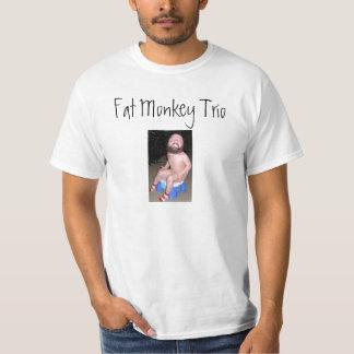 SUPER POOPER, Fat Monkey Trio T-Shirt