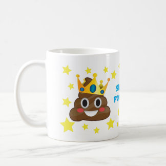 Super Pooper, King Poo Mug