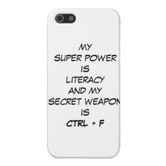 Super Power iPhone 5 case