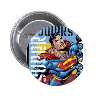Super Powers 6 Cm Round Badge