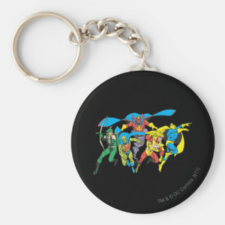 Super Powers™  Collection 10 Basic Round Button Key Ring