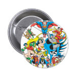 Super Powers™ Collection 4 6 Cm Round Badge