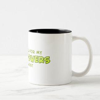 Super Powers Two-Tone Mug