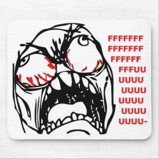 super rage face meme rofl mousepads