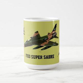 Super Sabre F100 Basic White Mug