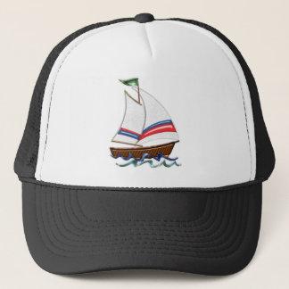 Super Sailboat Trucker Hat