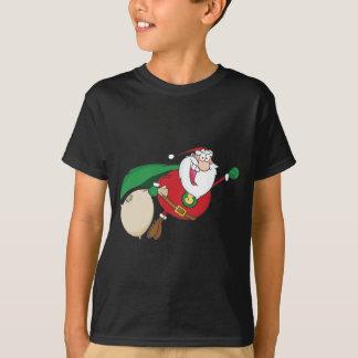 Super Santa Claus Fly T-Shirt