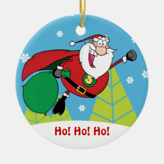 Super Santa Claus Ornament