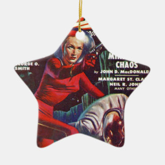 Super Science Ceramic Ornament