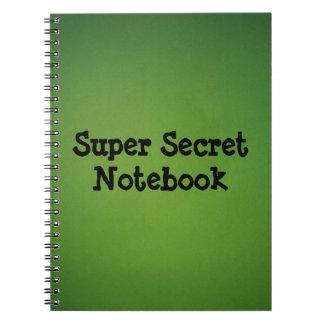 Super secret notebook