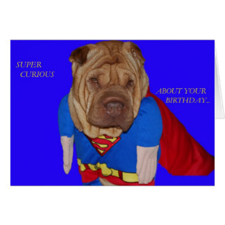 Super Shar Pei Card