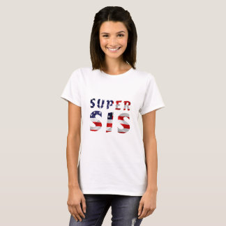 Super Sis and the American Flag T-Shirt