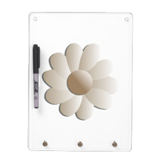 Super-Size Pop Flower Dry Erase Board / Key Holder