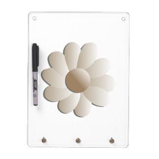 Super-Size Pop Flower Dry Erase Board / Key Holder