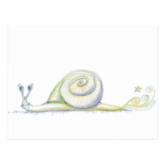 Super Snail Postcard