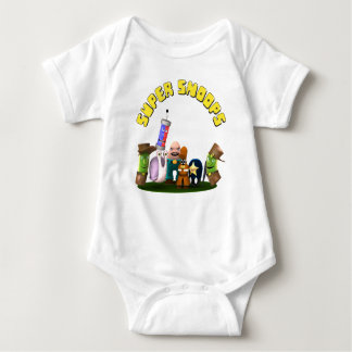 Super Snoops Jr. Detectives Baby Bodysuit