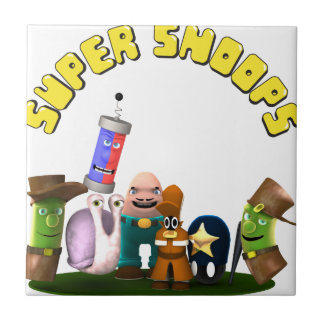 Super Snoops Jr. Detectives Ceramic Tile