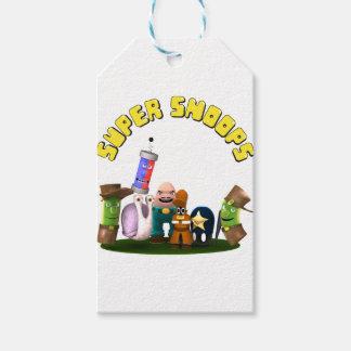 Super Snoops Jr. Detectives Gift Tags