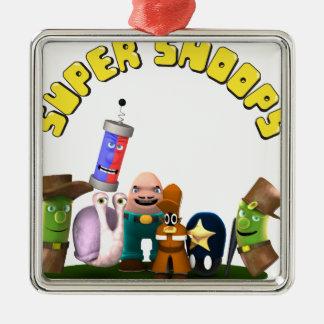Super Snoops Jr. Detectives Metal Ornament