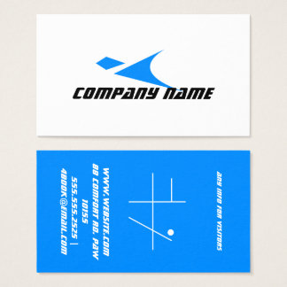 super sonic business card