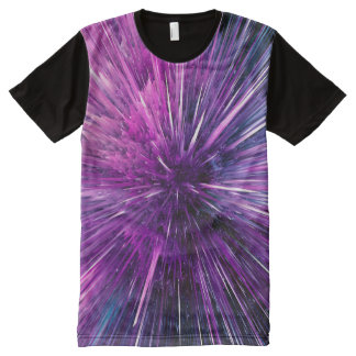 Super sonic - gorgeous purple All-Over print T-Shirt