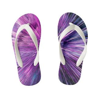 Super sonic - gorgeous purple kid's thongs