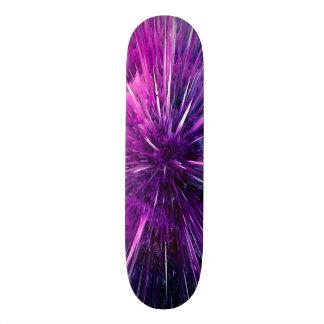 Super sonic - gorgeous purple skateboard