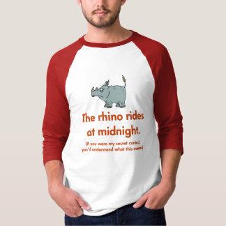 Super Spy Rhino T-Shirt
