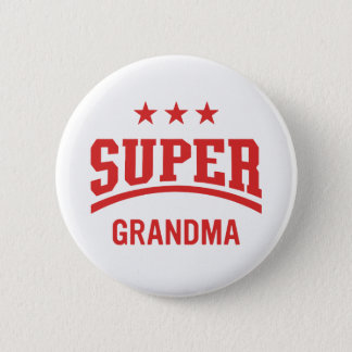 Super Star Grandma Button | Mini Brothers