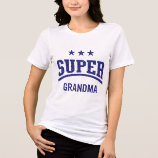 Super Star Grandma by Mini Brothers T-Shirt