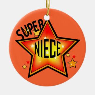 Super Star Niece Christmas Ornament