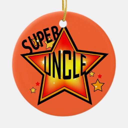 Super Star Uncle Christmas Ornament