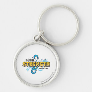 Super Strength Silver-Colored Round Key Ring