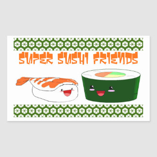 Super Sushi Friends Sticker