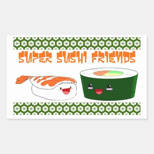 Super Sushi Friends Sticker