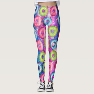 Super Sweet Space Doughnuts Leggings
