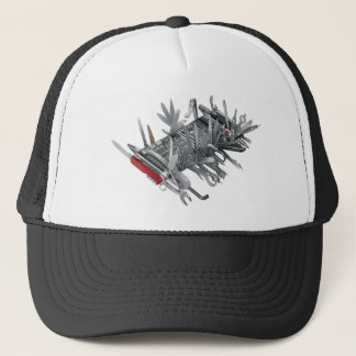 Super Swiss Army Knife Trucker Hat