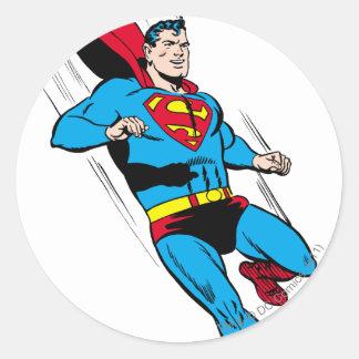 Super Swoosh Round Sticker