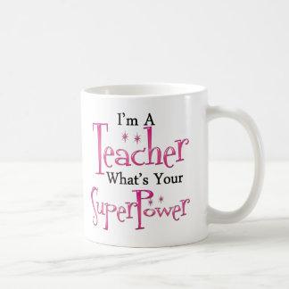 Super Teacher Basic White Mug
