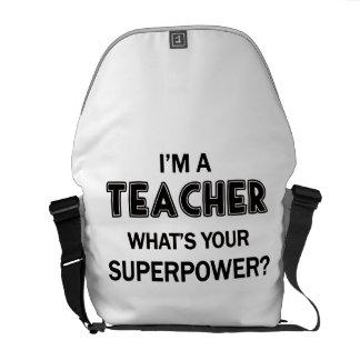 Super Teacher Courier Bag