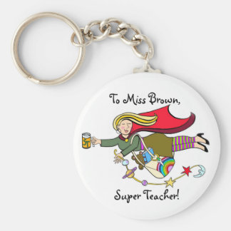 Super Teacher Key Ring