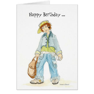 Super Teenager Birthday Card