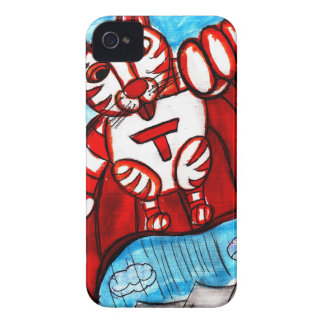 Super Tiger iPhone 4 Cover